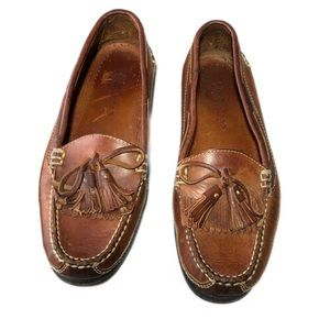 Cole Haan Country Leather Loafers With Tassels